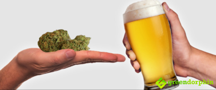 cannabis is good for alcoholics