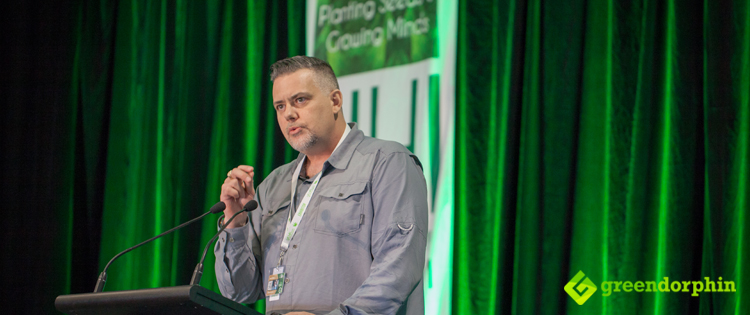 Canadian activist Jason Wilcox - Hemp Health Innovation Expo in Sydney