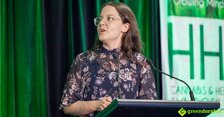 Researcher Anastasia Suraev - Hemp Health Innovation Expo in Sydney