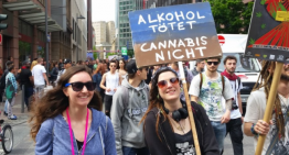 Global Marijuana March Makes A Splash In Frankfurt