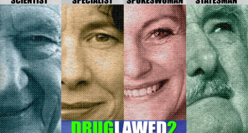 New Series of Druglawed Burns Up the Screen!