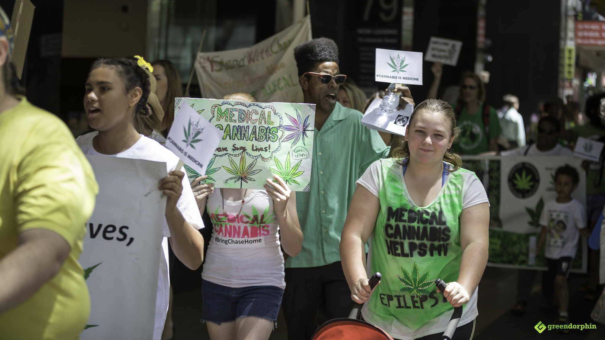 Medical Cannabis Law Reform March - Brisbane, Australia