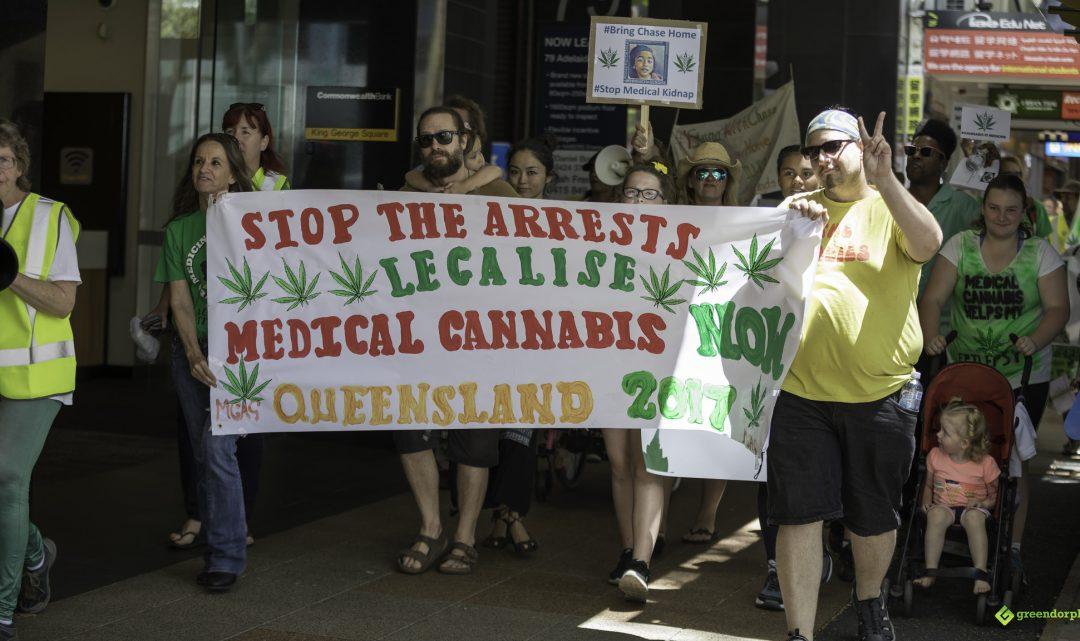Medical Cannabis Law Reform Rally and March – Brisbane Australia