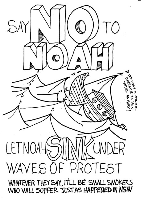 'Say No To Noah' campaign
