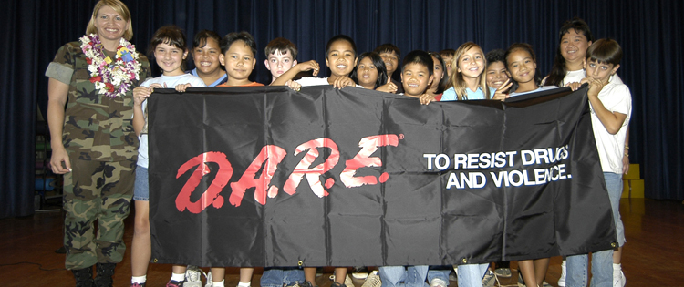 Drug Abuse Resistance Education or D.A.R.E.