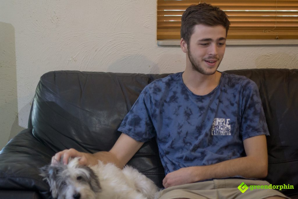 Lindsay Carter: Australia's First Medical Cannabis Patient and his dog
