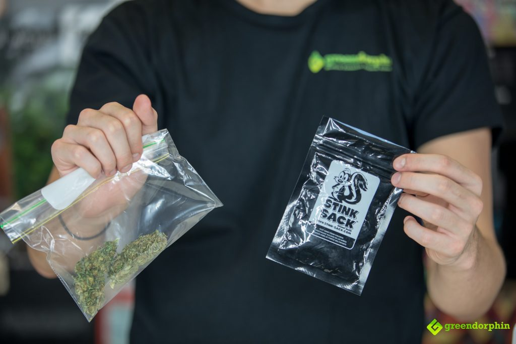 store your cannabis - bags