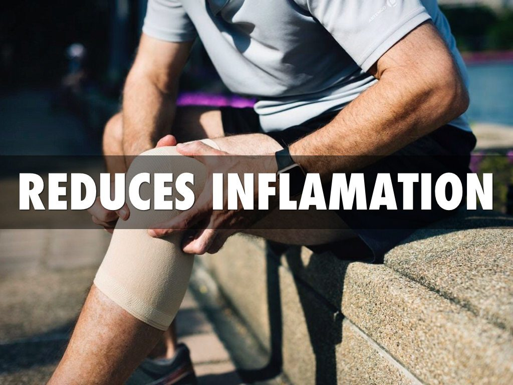 CBD Oil As A Muscle Relaxant - reduces inflamation
