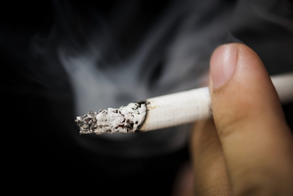 Burning Cigarette - Youth Choose Cannabis Over Alcohol and Cigarette