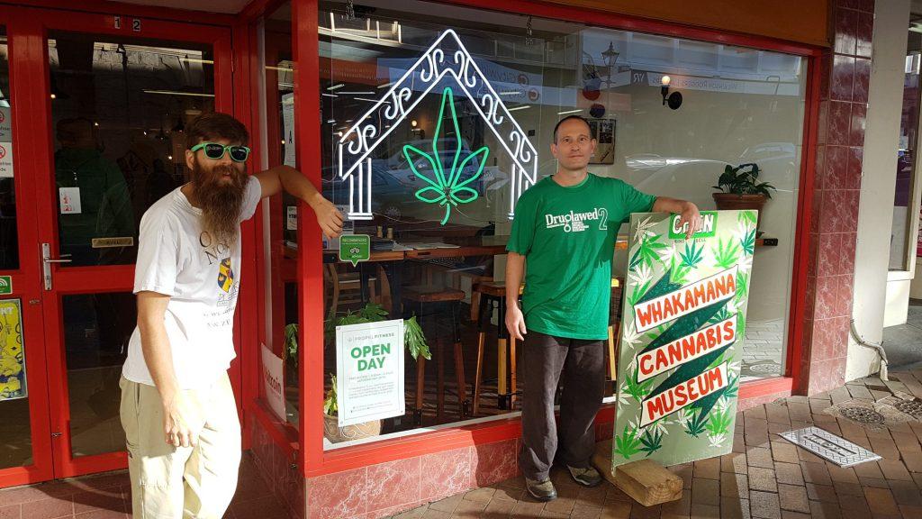 Abe Gray & Arik Reiss - Dunedin Cannabis Museum