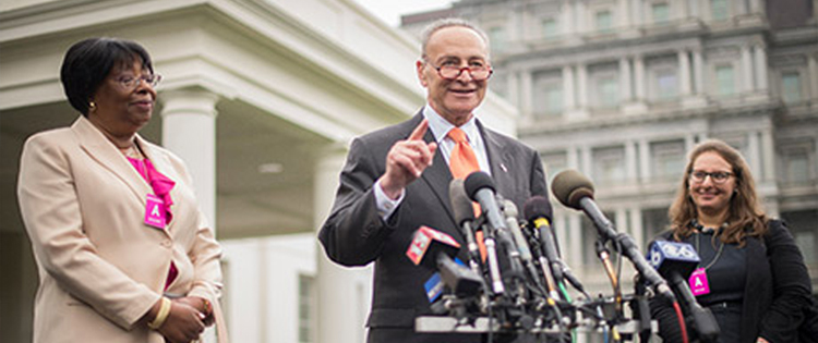 Schumer Introduces Bill to Federally Decriminalize Marijuana