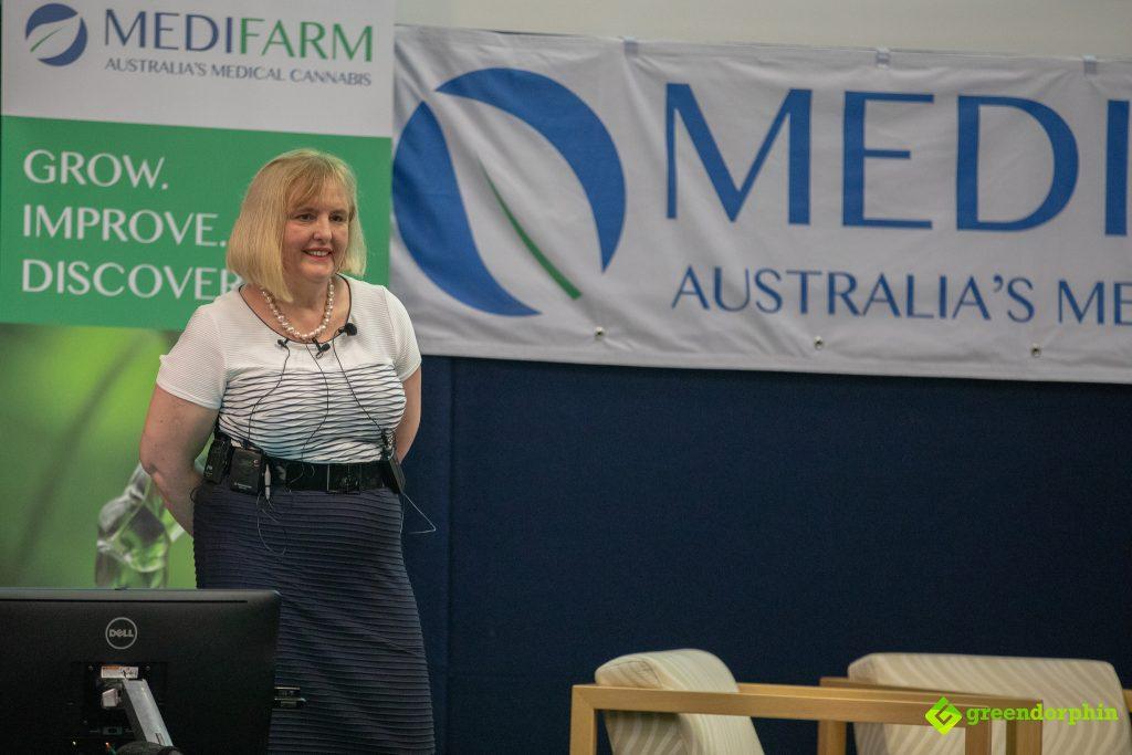 MEDIFARM Medicinal Cannabis Event - Dr Teresa Towpik