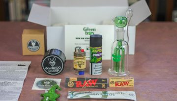 The Green Box: Australia's Premier Weed Subscription Box