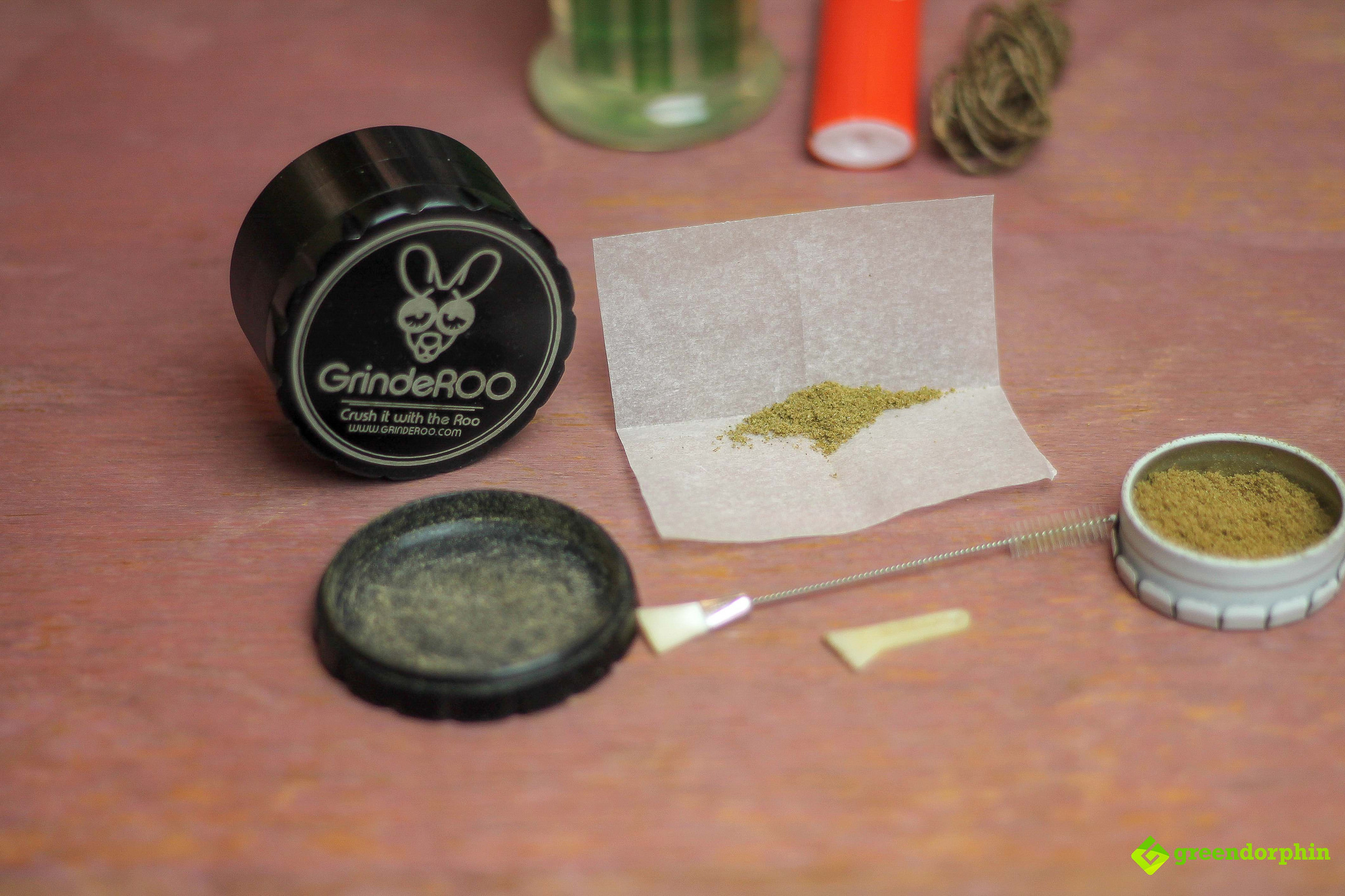turn your kief into hash grinderoo