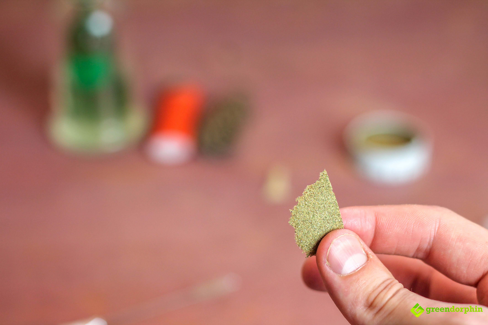 turn your kief into hash flake of hash