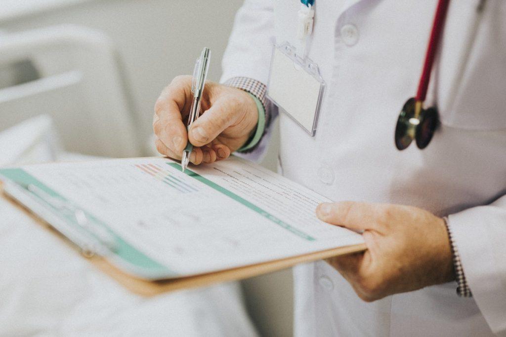 doctor prescribing medical cannabis
